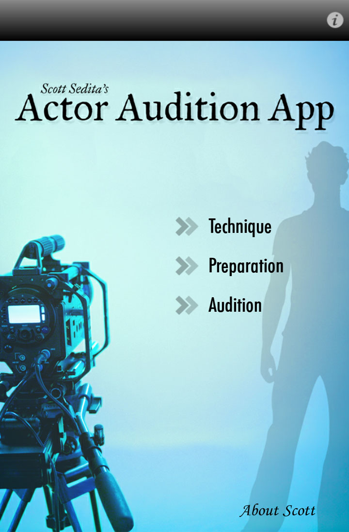 Actor Audition App Home