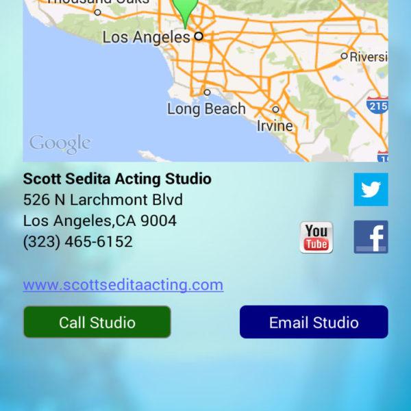 Actor Audition App Studio