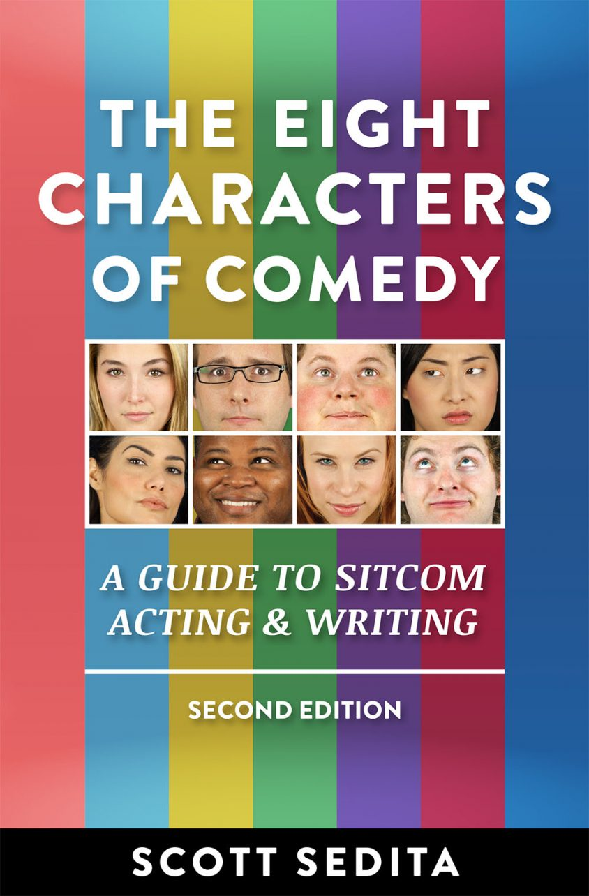 Eight Characters of Comedy Front Cover